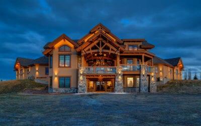 Alberta Timber Frame Home
