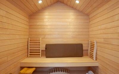 Custom Cedar Sauna